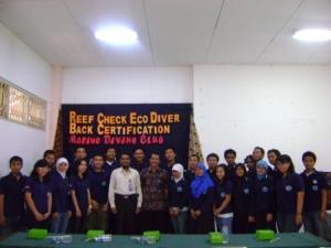 Launching Bersama Pembina dan Pihak Kampus